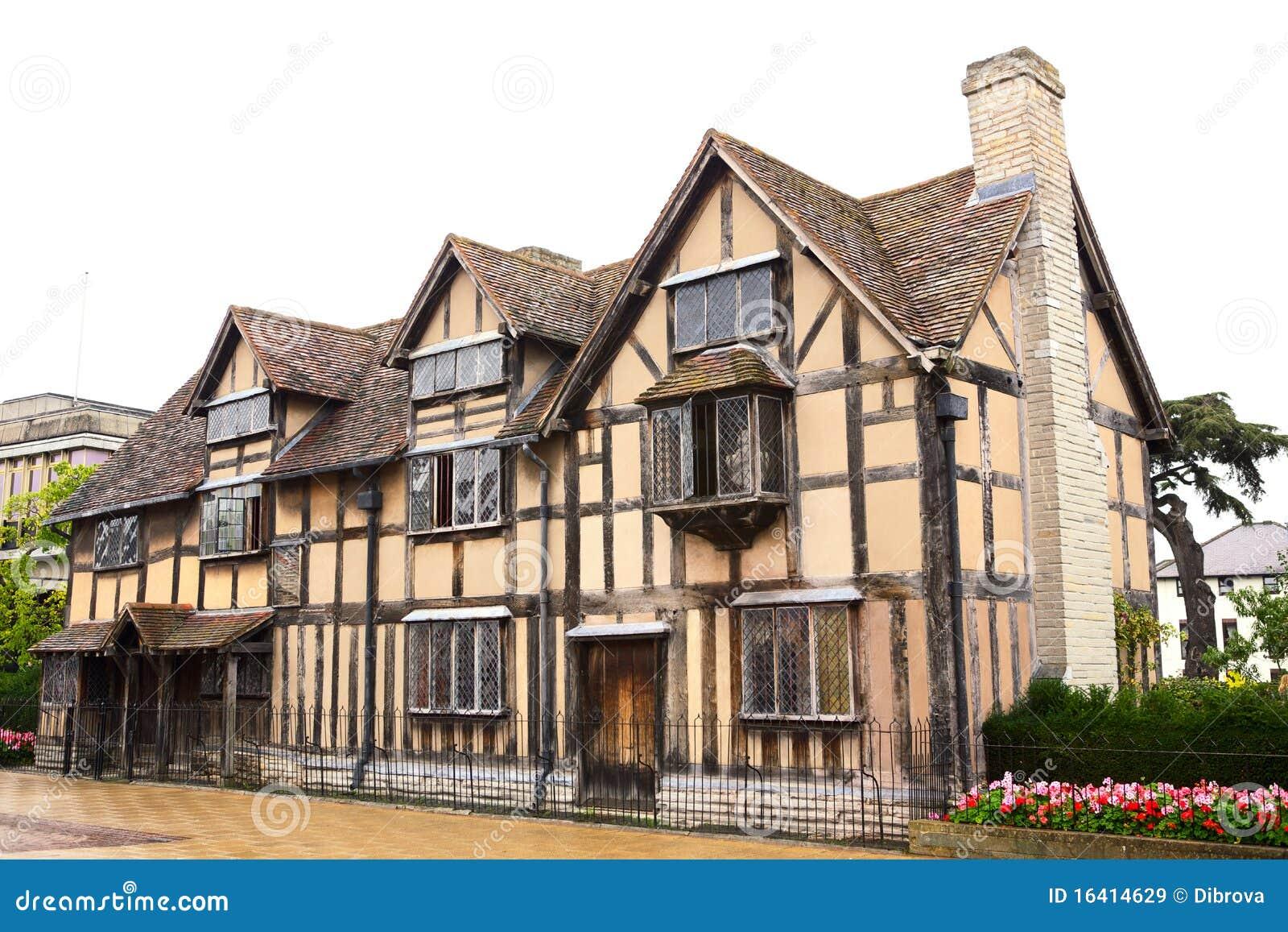 Het huis van william shakespeare 39 s stock afbeelding afbeelding 16414629 - Versier het huis ...