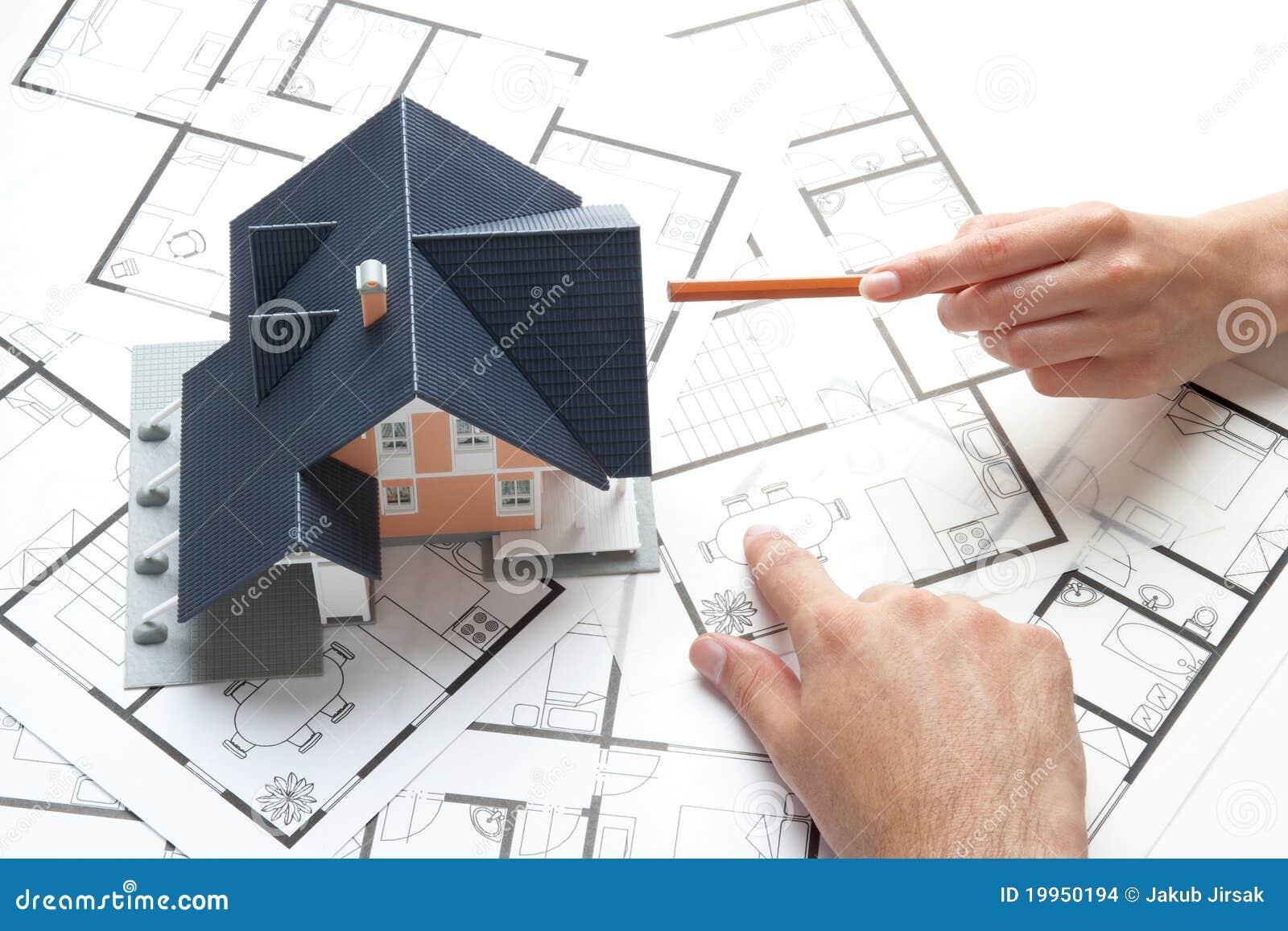 Het huisvesten planning
