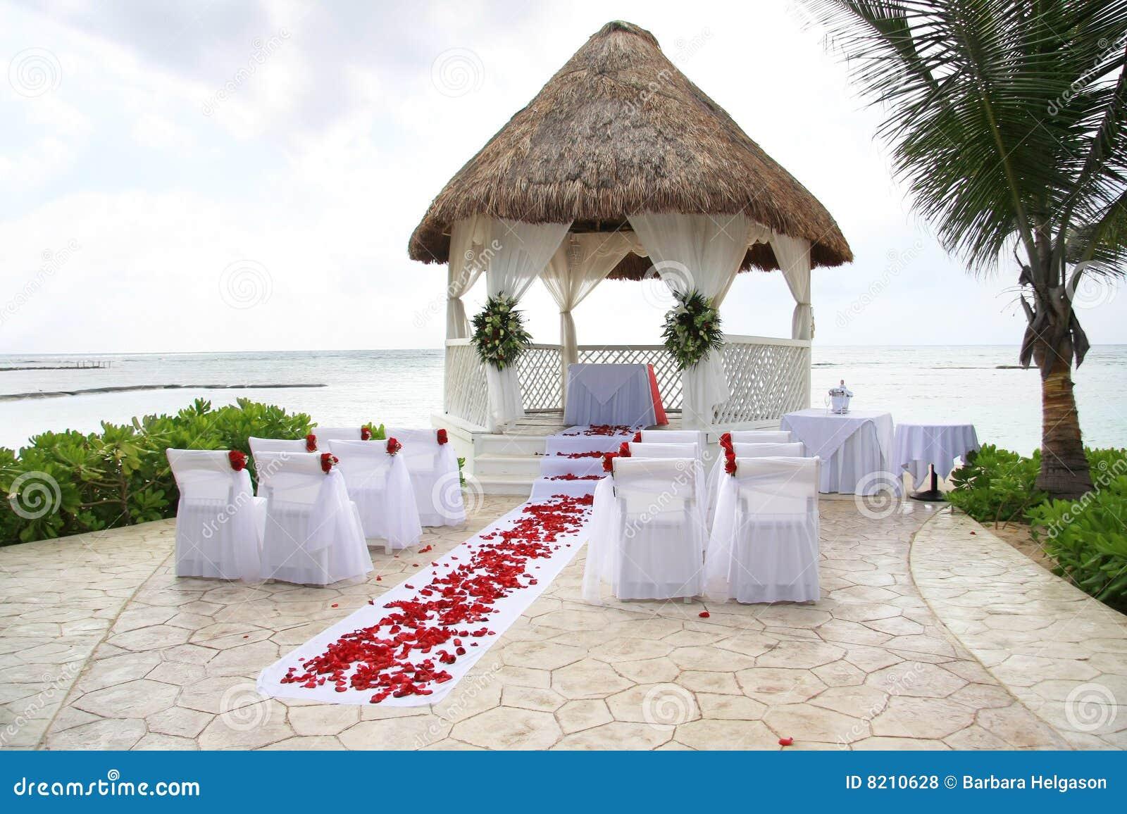 Het huwelijk van het strand