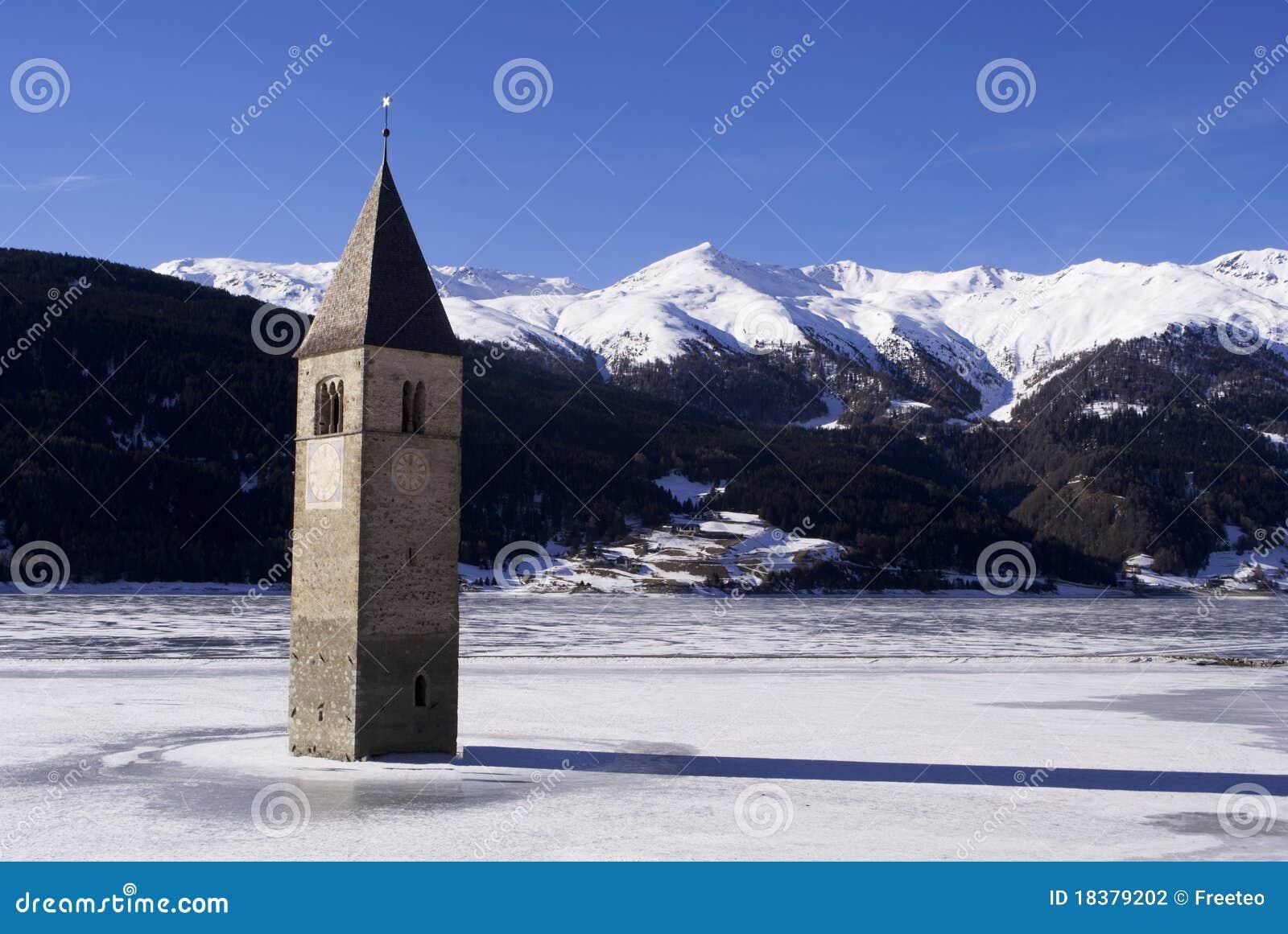 Het ijs van de klokketoren