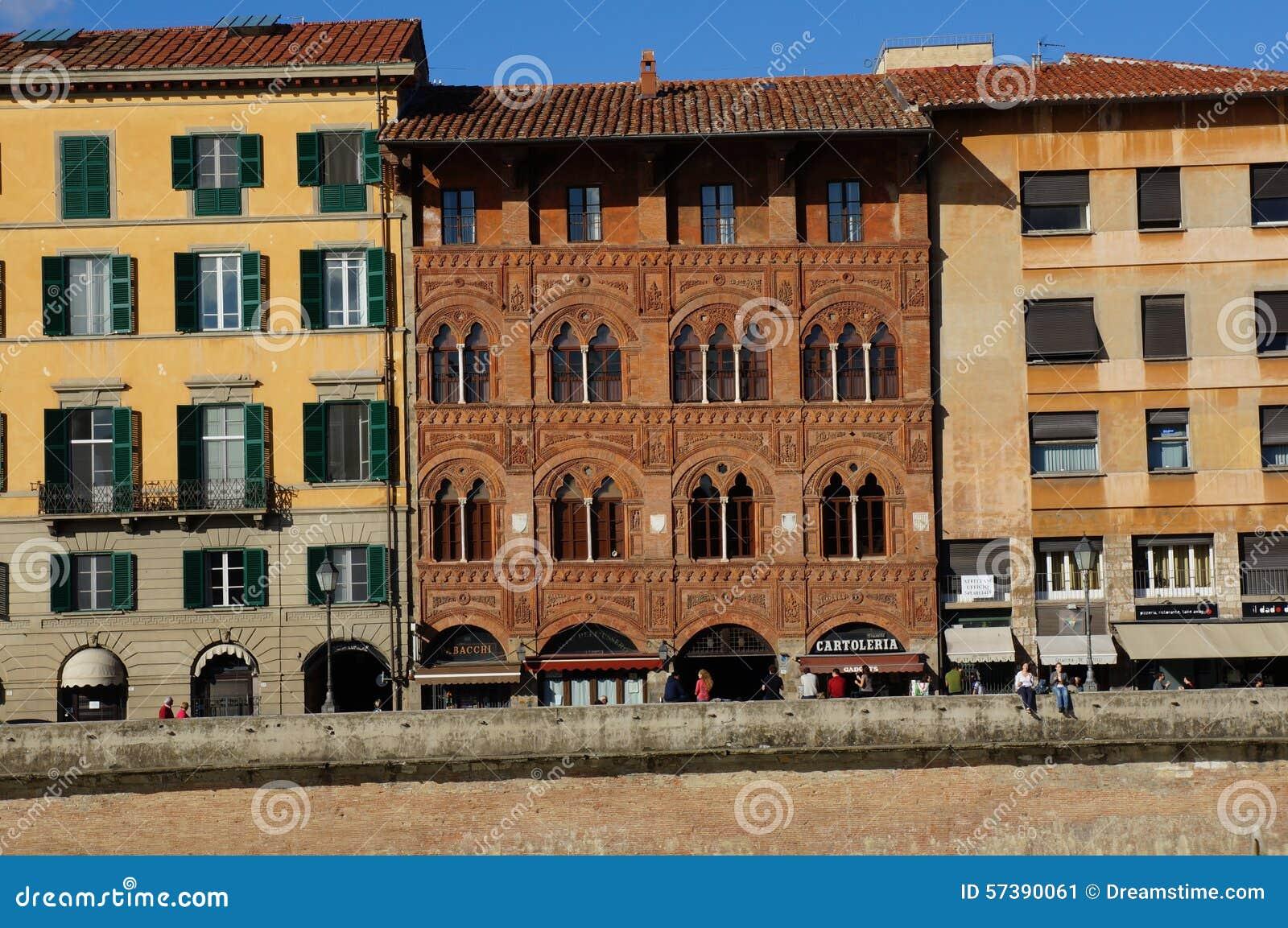 Het inbouwen van Florence Italy