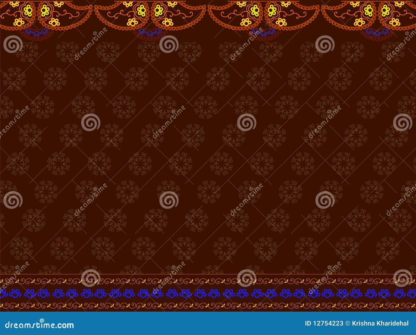 Het Indische af:drukken van Sari