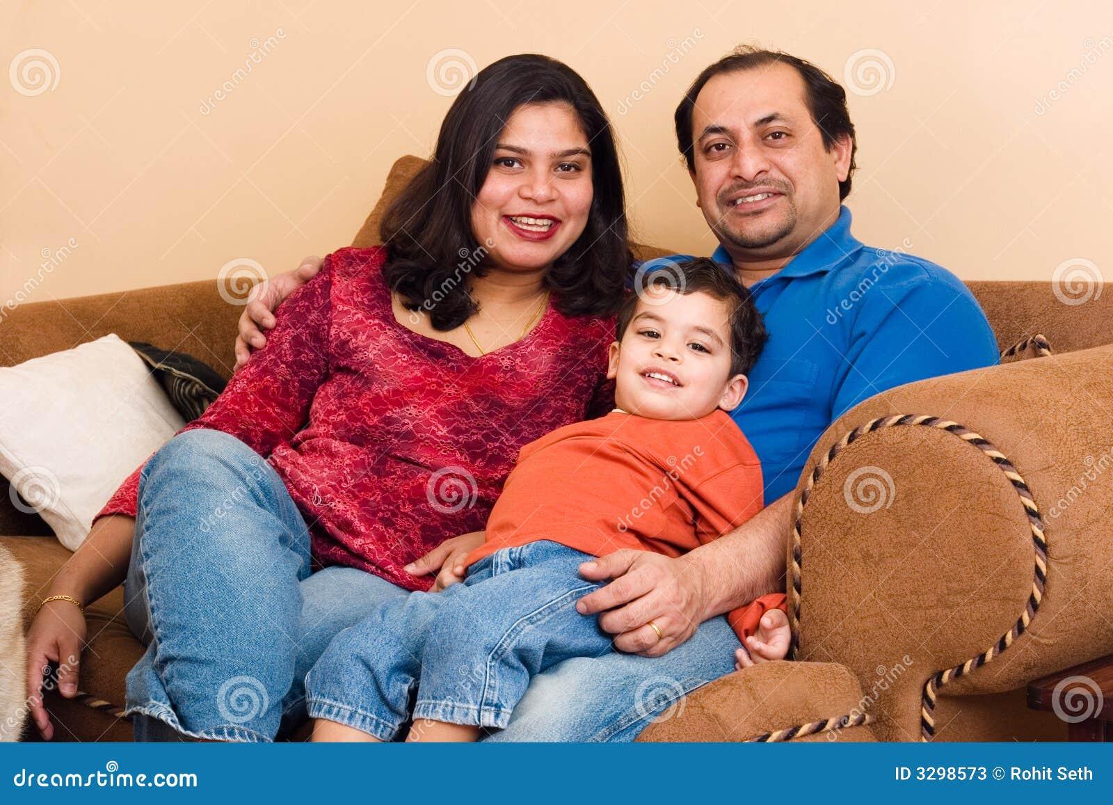Het Indische Paar van het oosten met hun