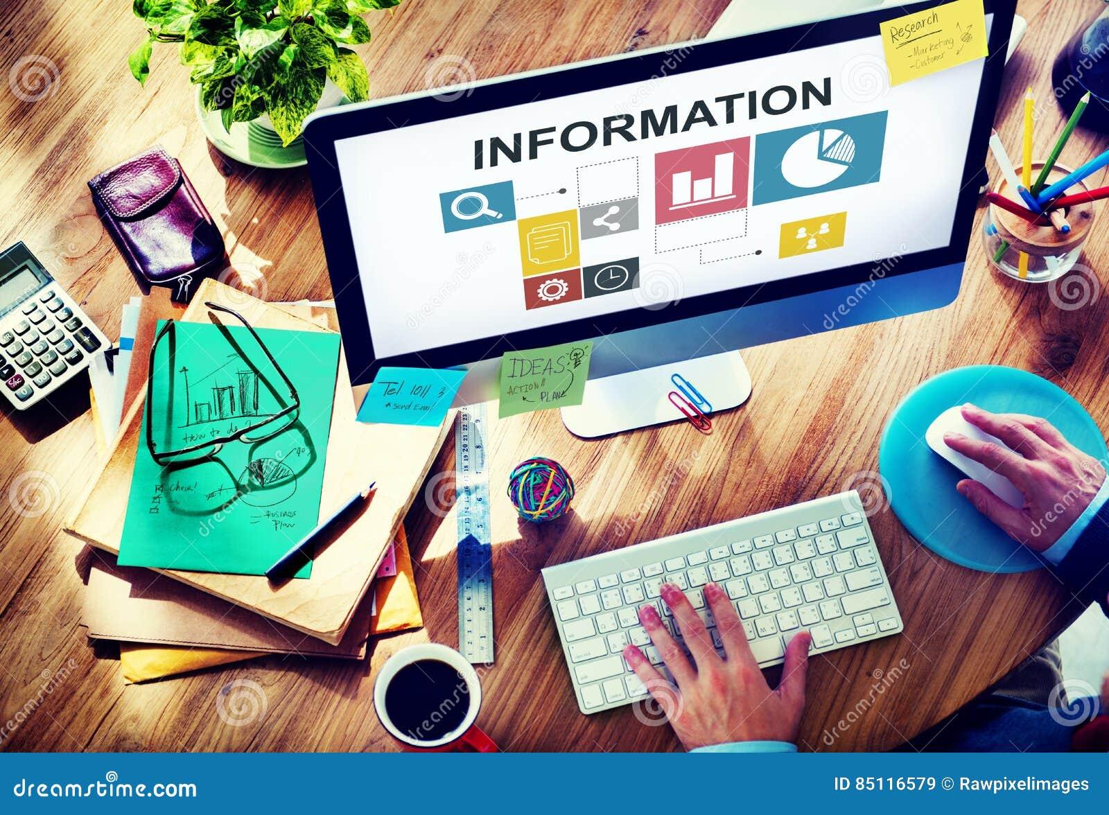 Het Informatieve rapportconcept van Analytics van de gegevensanalyse