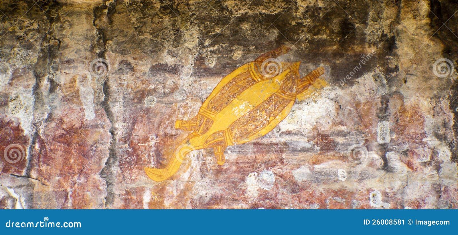 Het inheemse Art. van de Rots