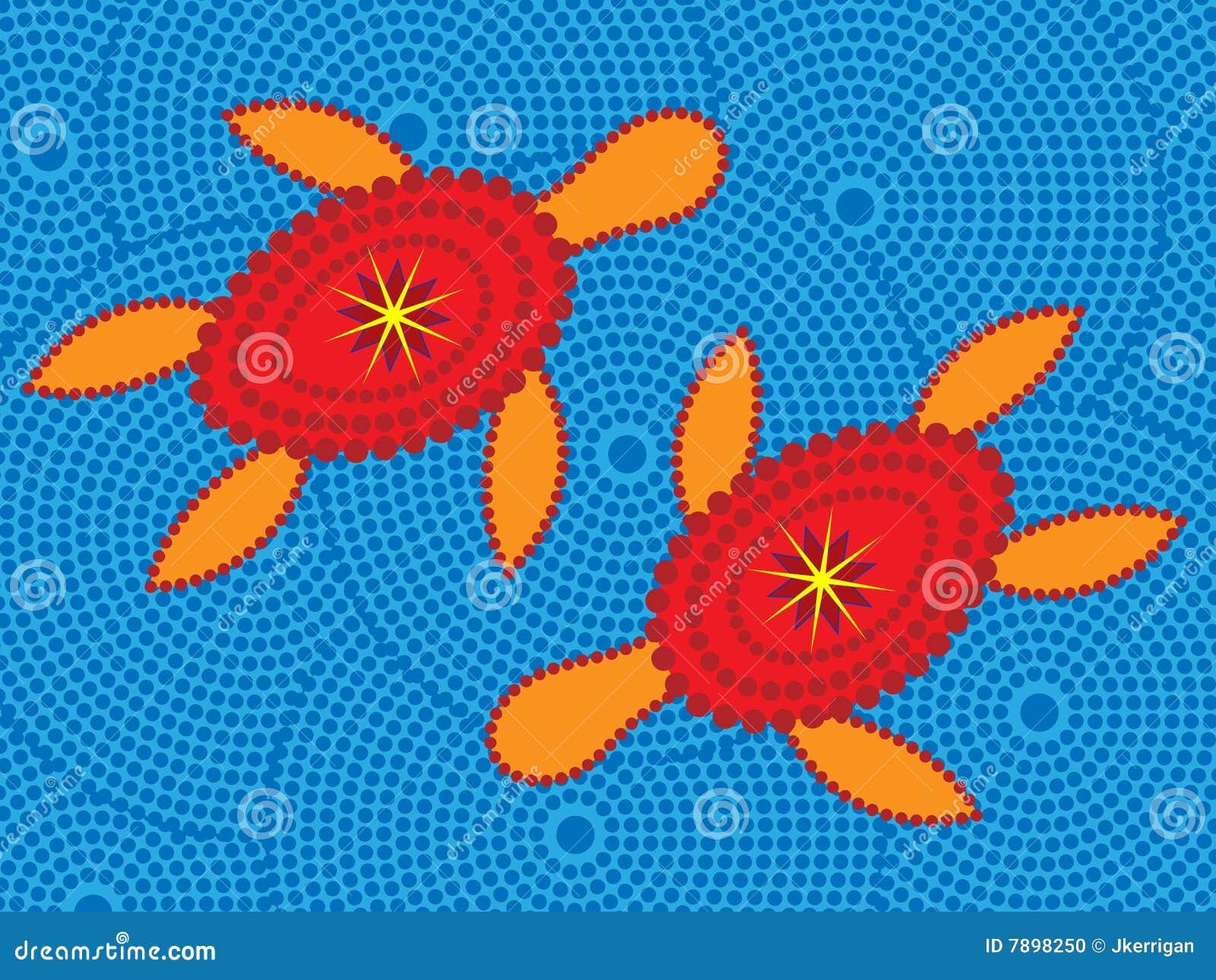Het inheemse ontwerp van de schildpad vector illustratie afbeelding 7898250 - Separateur van stuk ontwerp ...