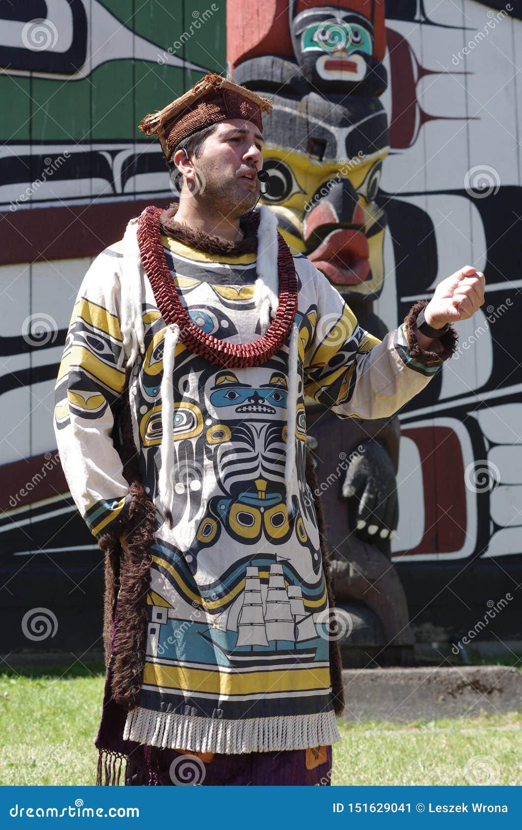 Het inheemse storytelling