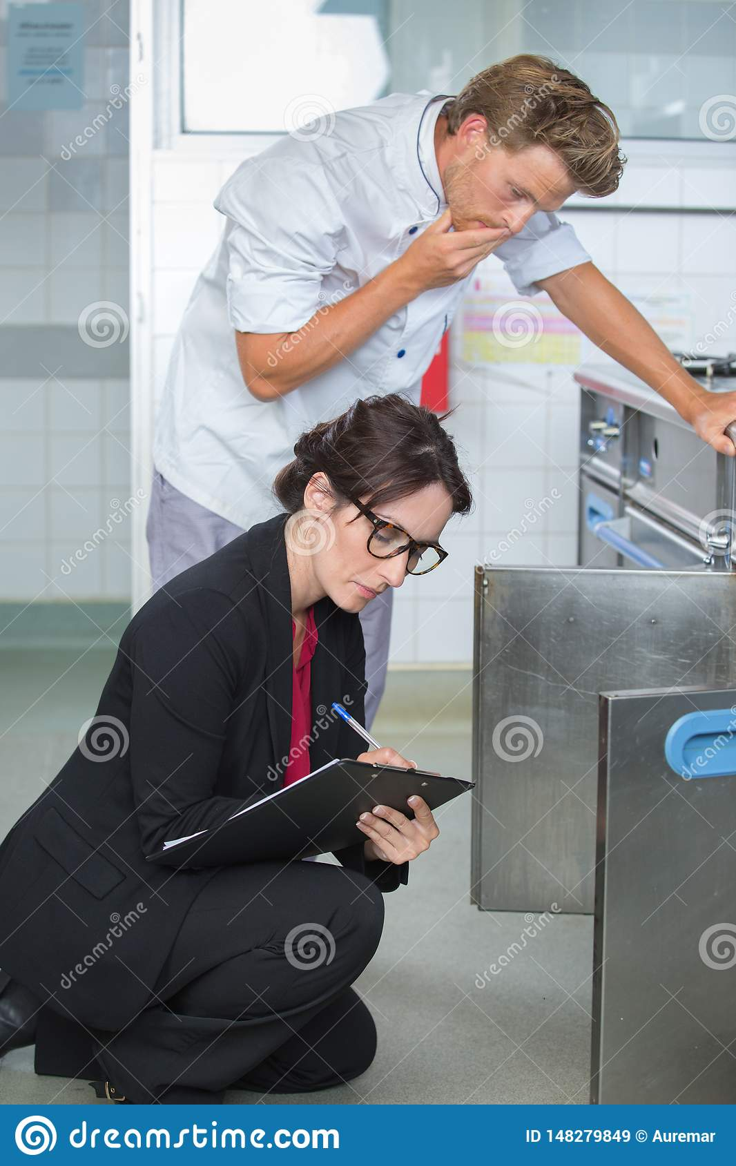 Het inspecteren voor openbare veiligheid