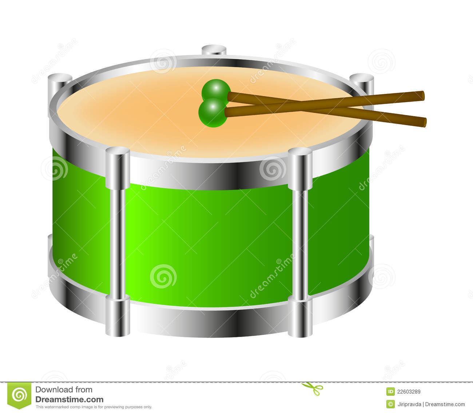 Drum Ring Vector