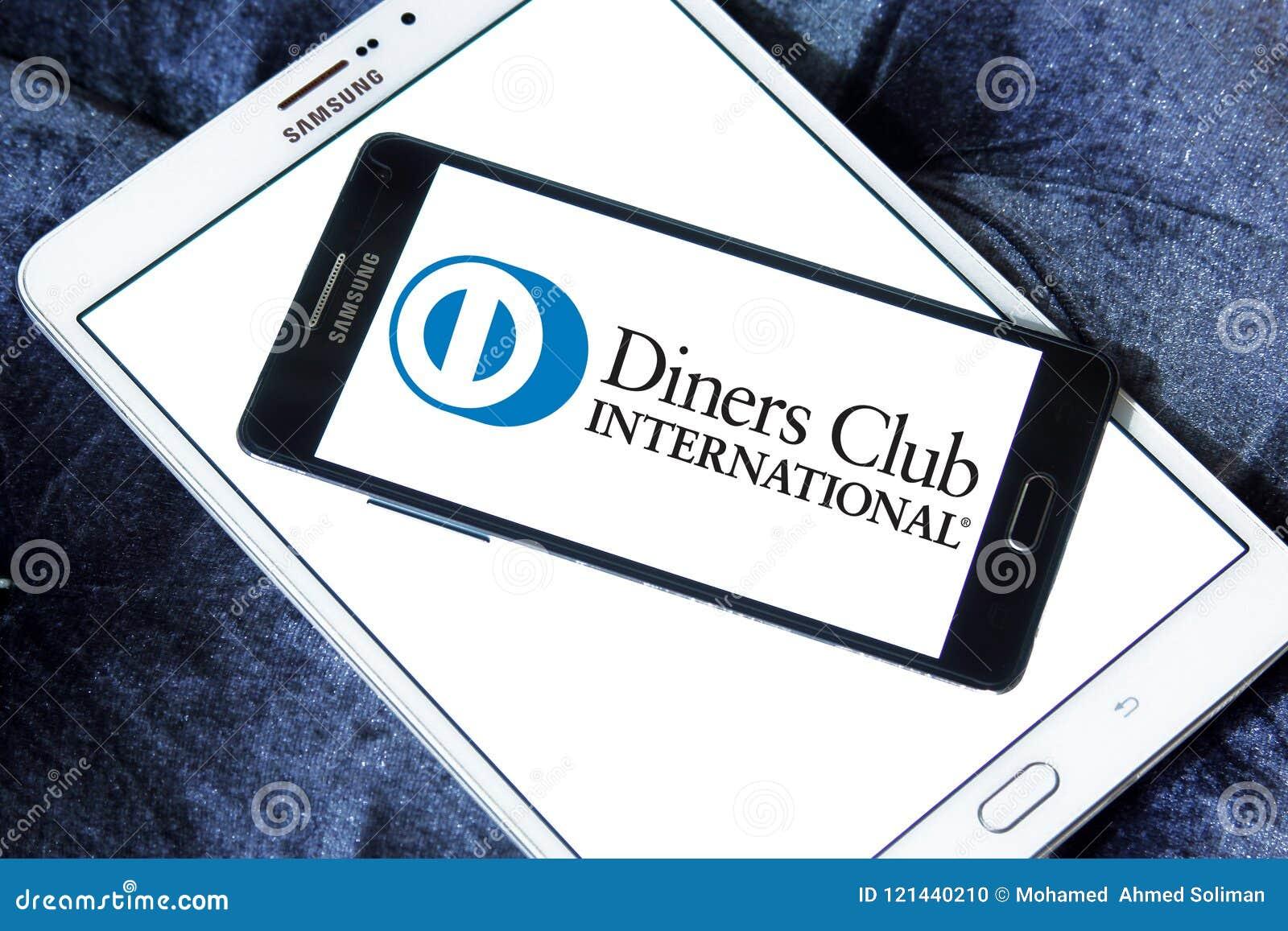 Het Internationale embleem van Diners Club