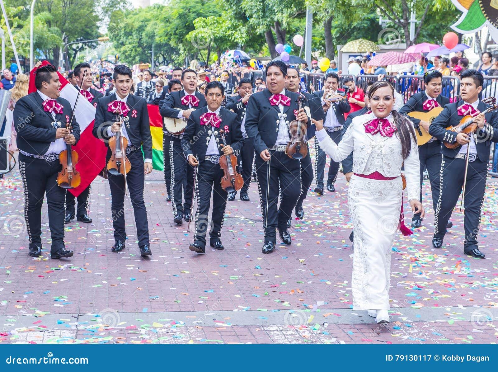 Het internationale festival van Mariachi & Charros-