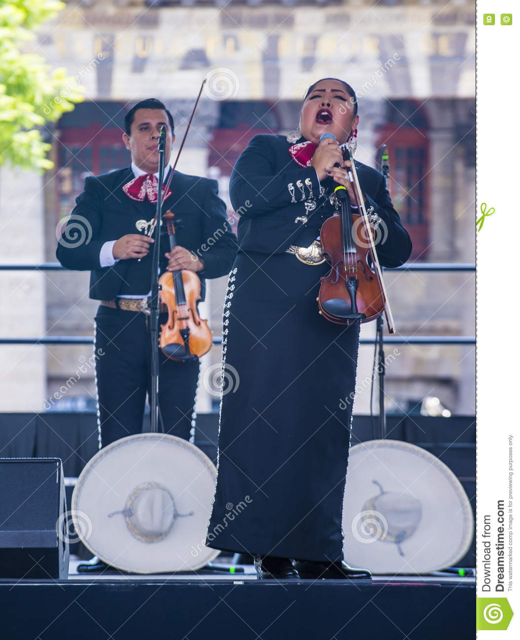 Het internationale festival van Mariachi & Charros-