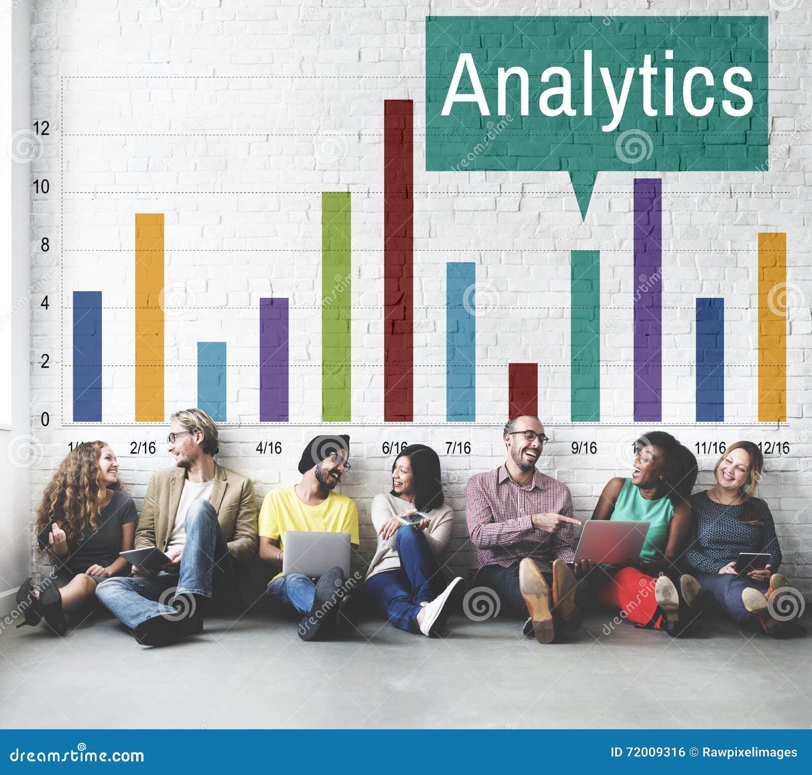Het Inzicht van de Analyticsanalyse verbindt Gegevensconcept
