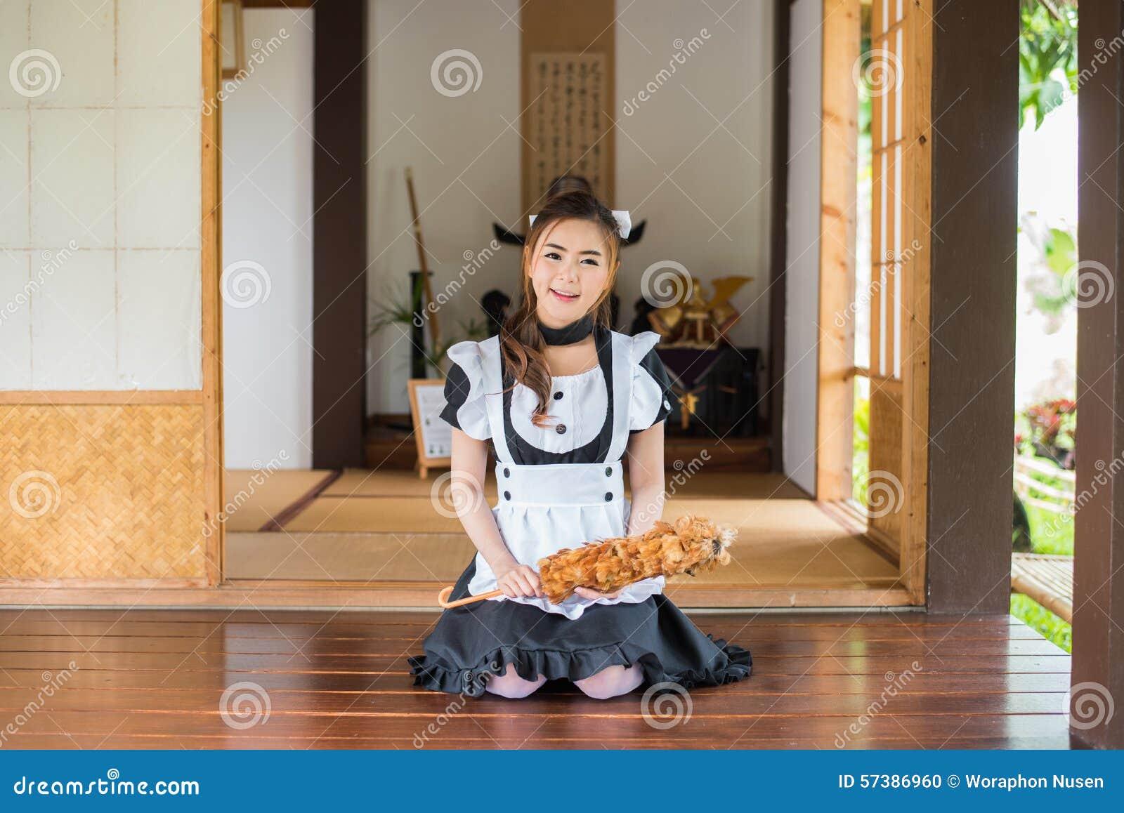 Het Japanse cosplay leuke meisje van het stijlmeisje