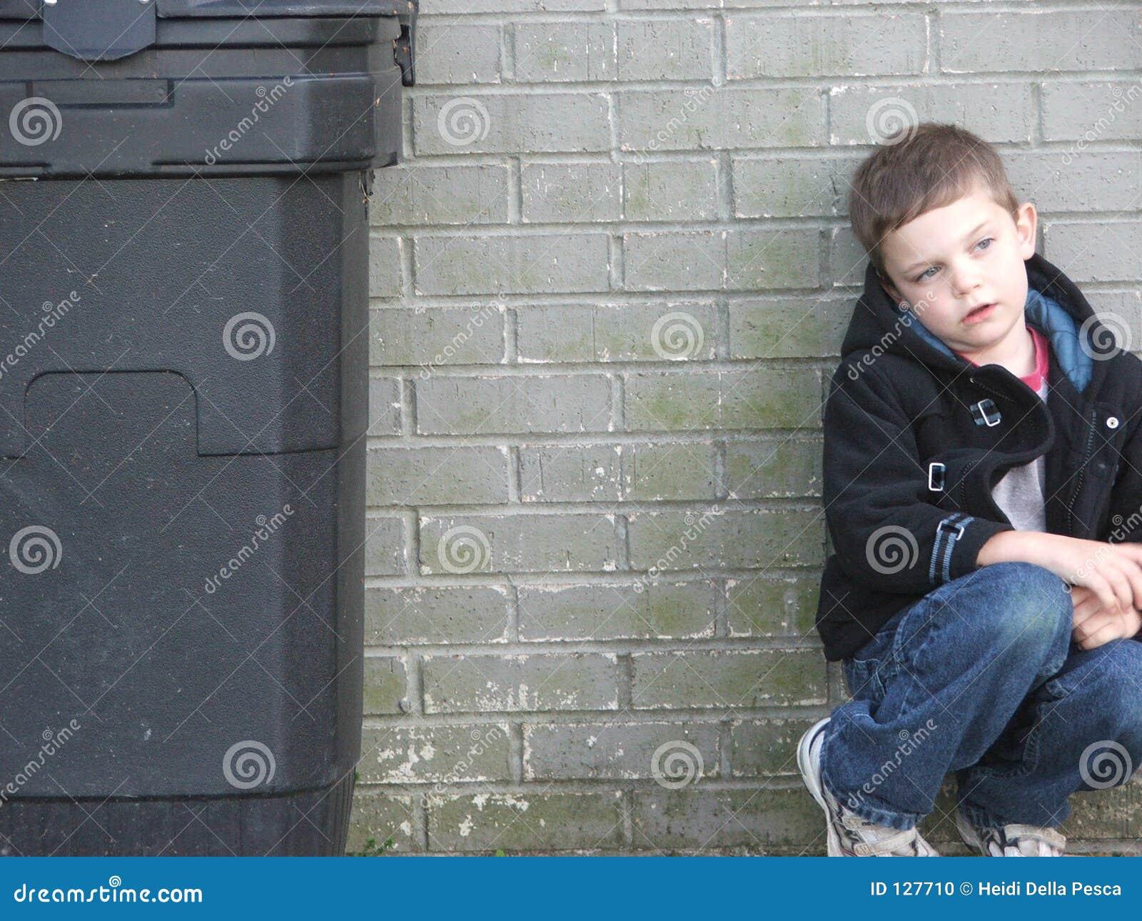 Het Jonge geitje van de vuilnisbak