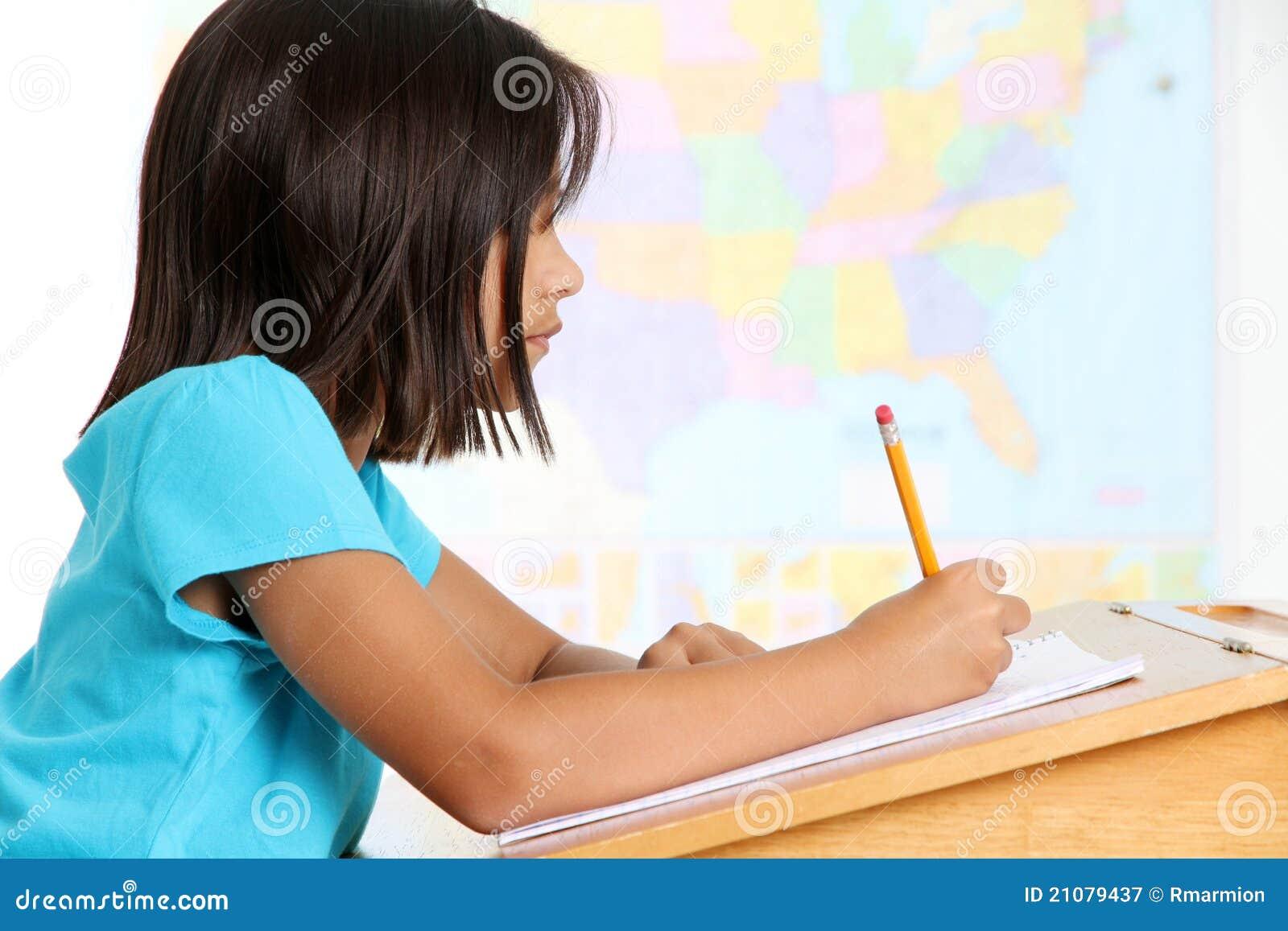 Het jonge Meisje van de School