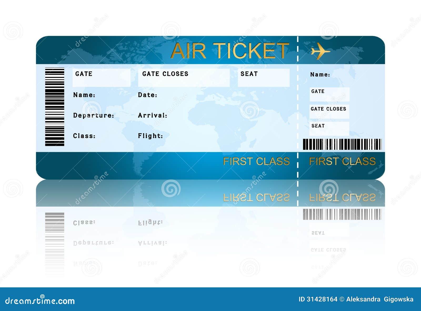 Het kaartje van de luchtvaartlijn instapkaart over wit wordt geïsoleerd dat