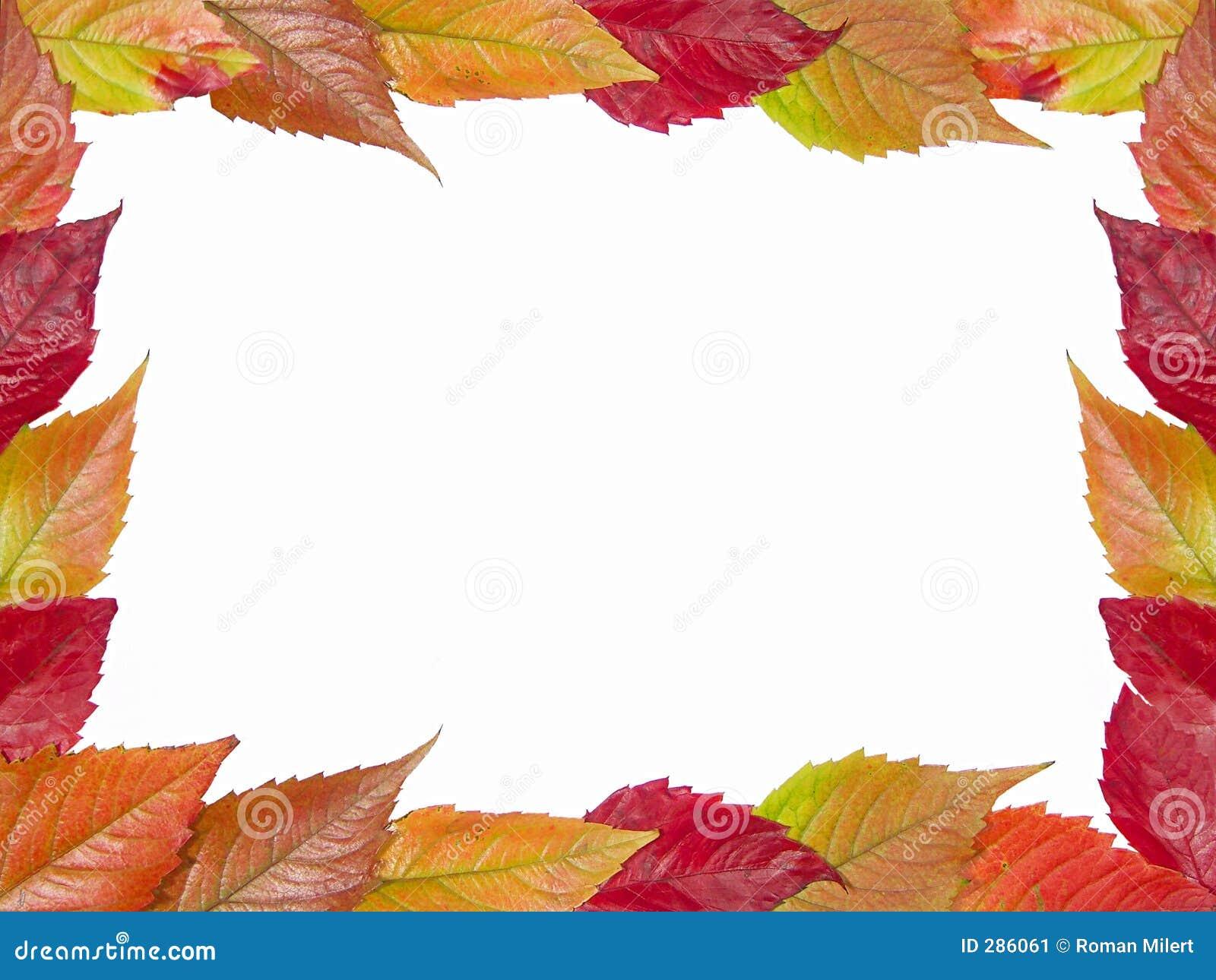 Het kader van de herfst