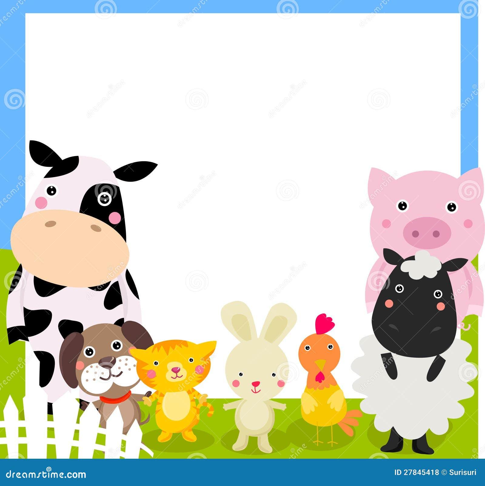 Het kader van landbouwbedrijfdieren