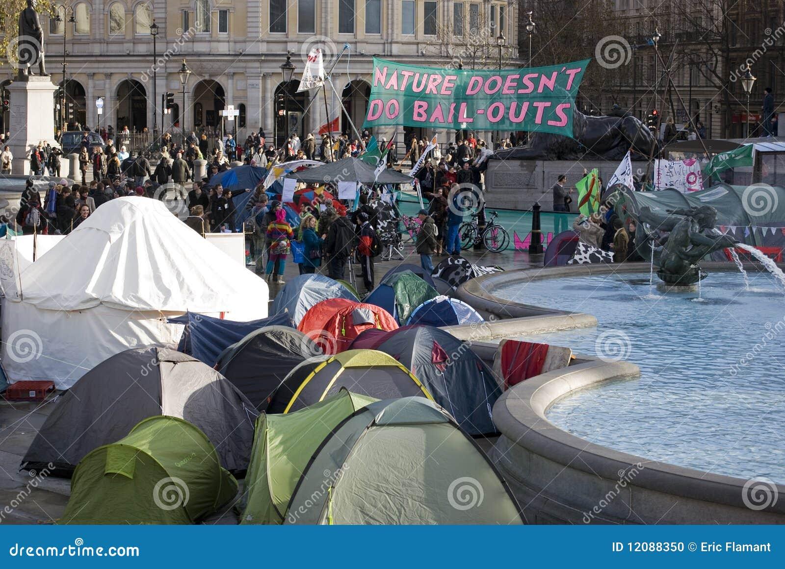 Het Kamp Londen van het klimaat