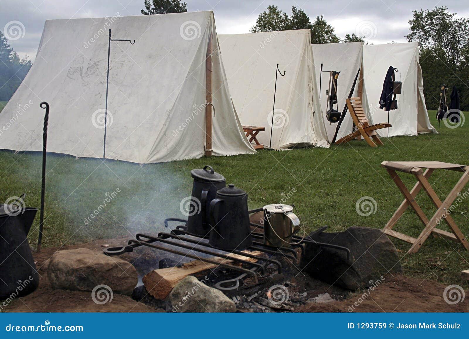 Het kamp van de Burgeroorlog