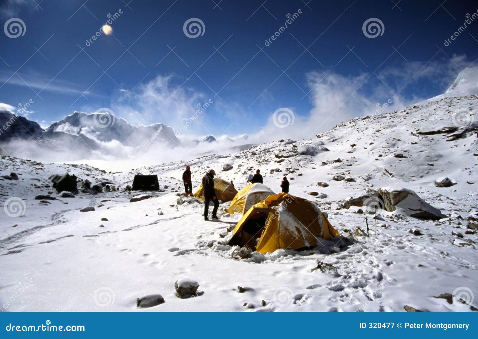 Het kamp van Himalayan