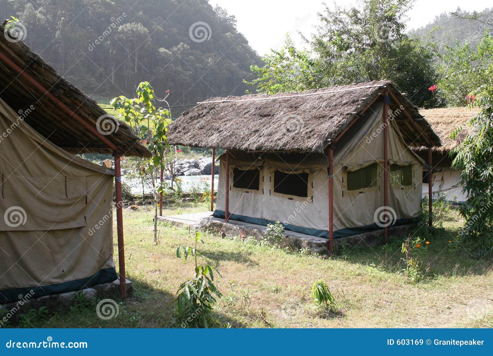Het kamperen - Nepal