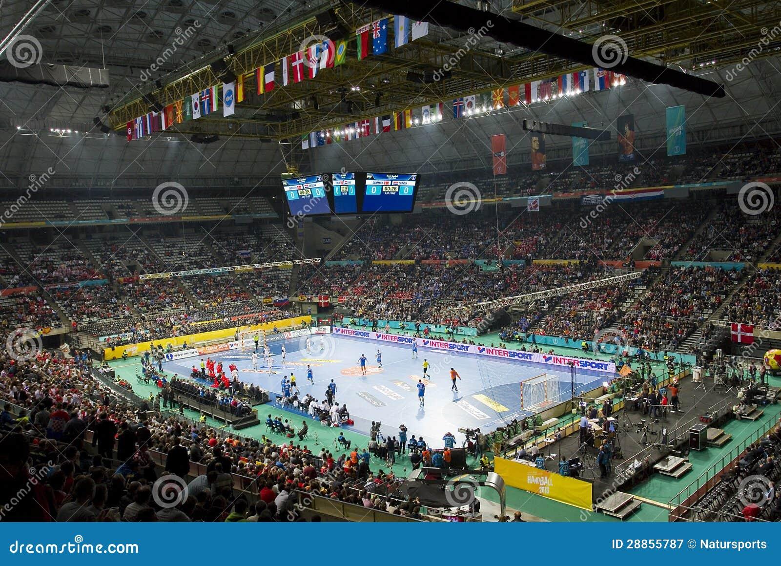 Het kampioenschap van de wereld van het handbal redactionele fotografie afbeelding 28855787 - Tijdschriftenrek huis van de wereld ...