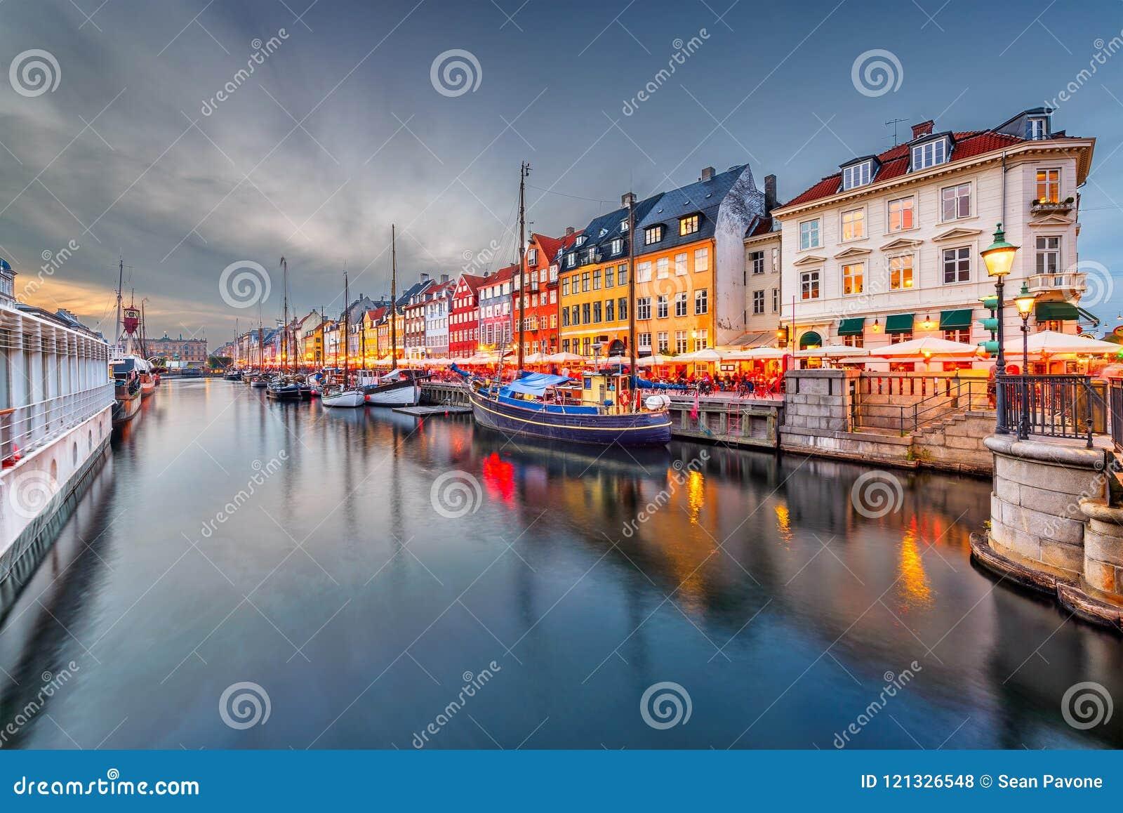 Het Kanaal van Kopenhagen, Denemarken