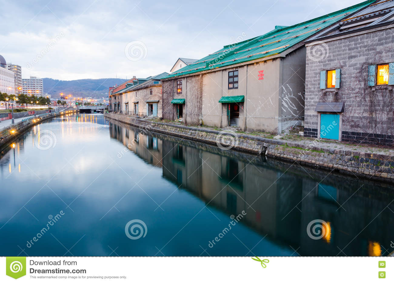 Het Kanaal van Otaru