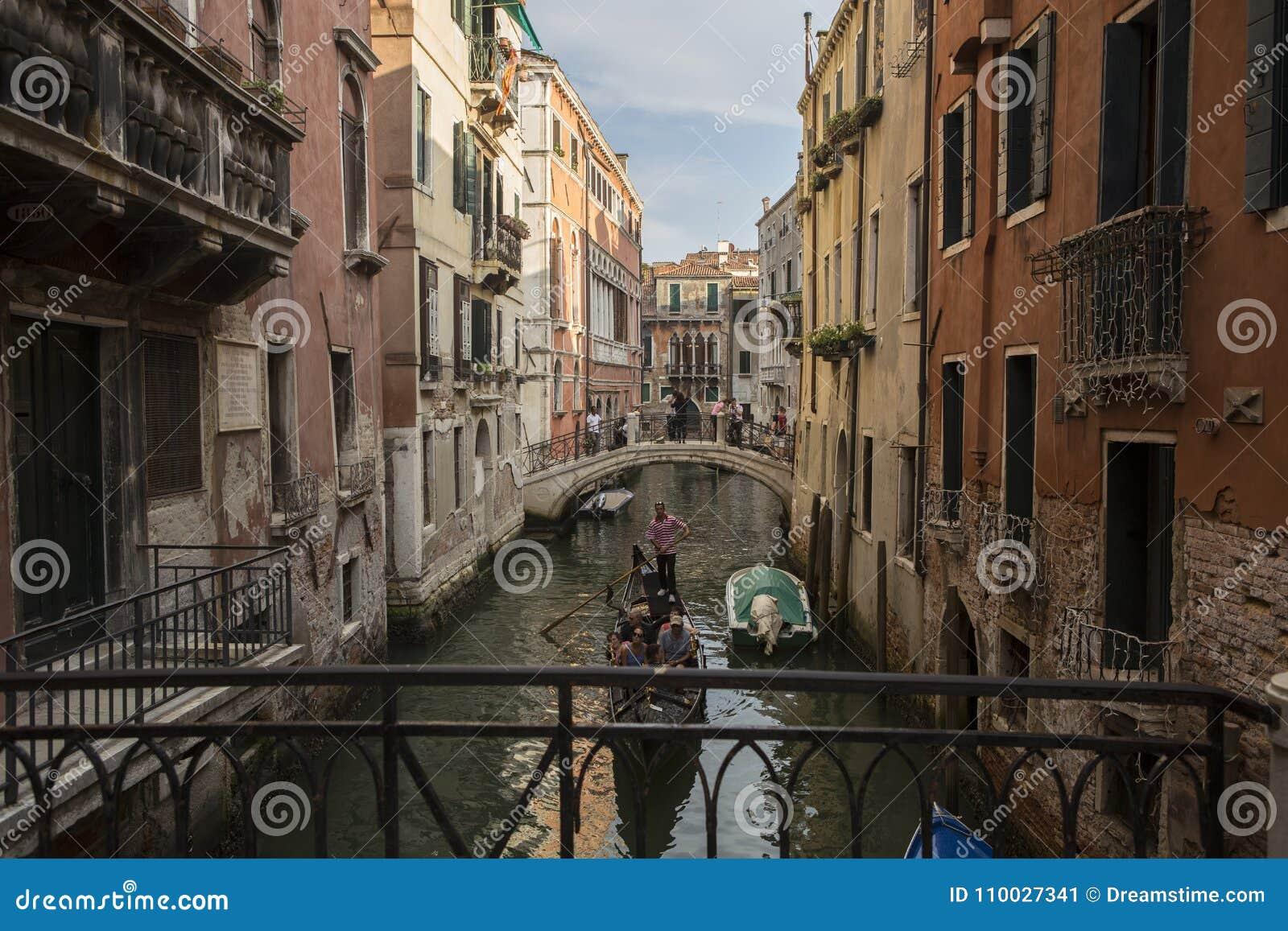 Het Kanaal van Venetië, Italië
