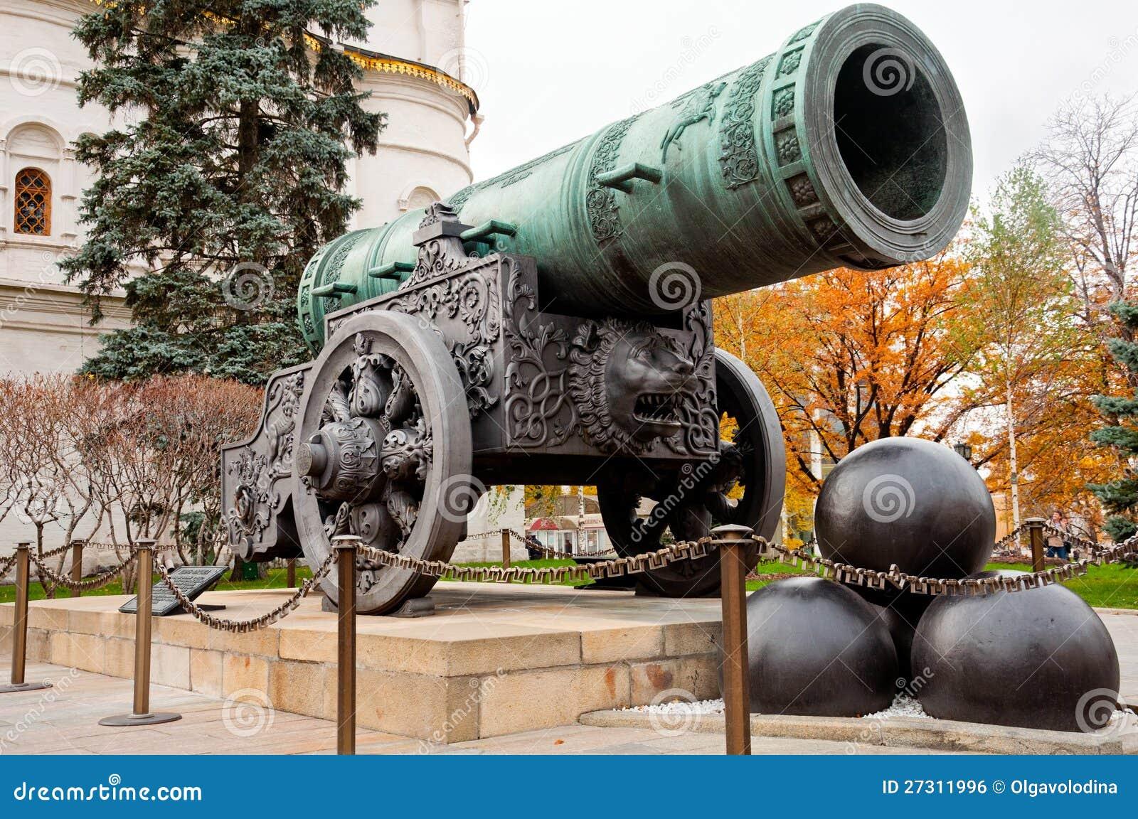 Het Kanon van de tsaar in Moskou het Kremlin