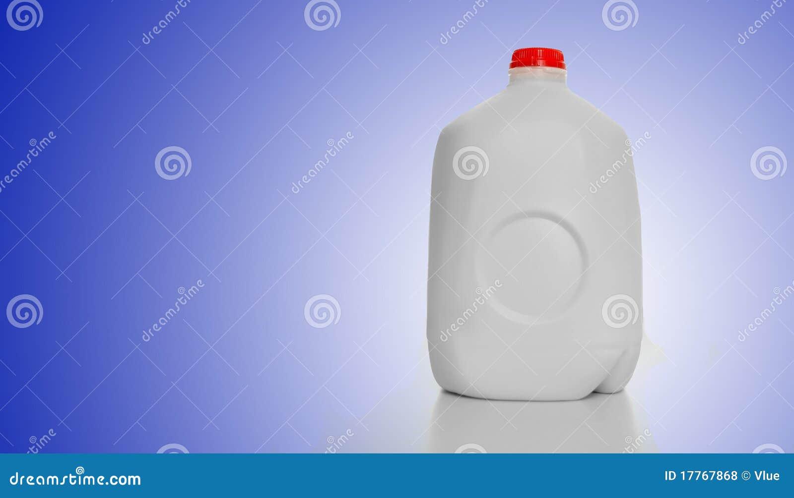 Het Karton van de Melk van de gallon