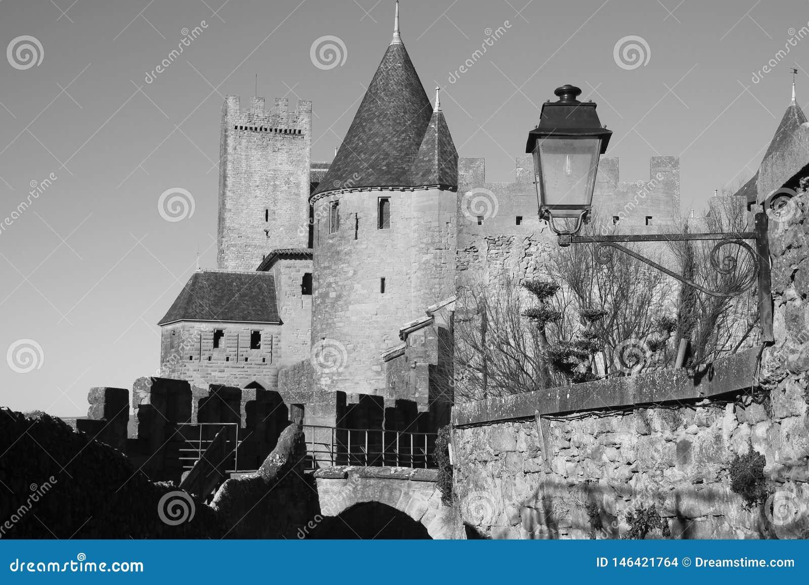 Het kasteel van Carcassonne