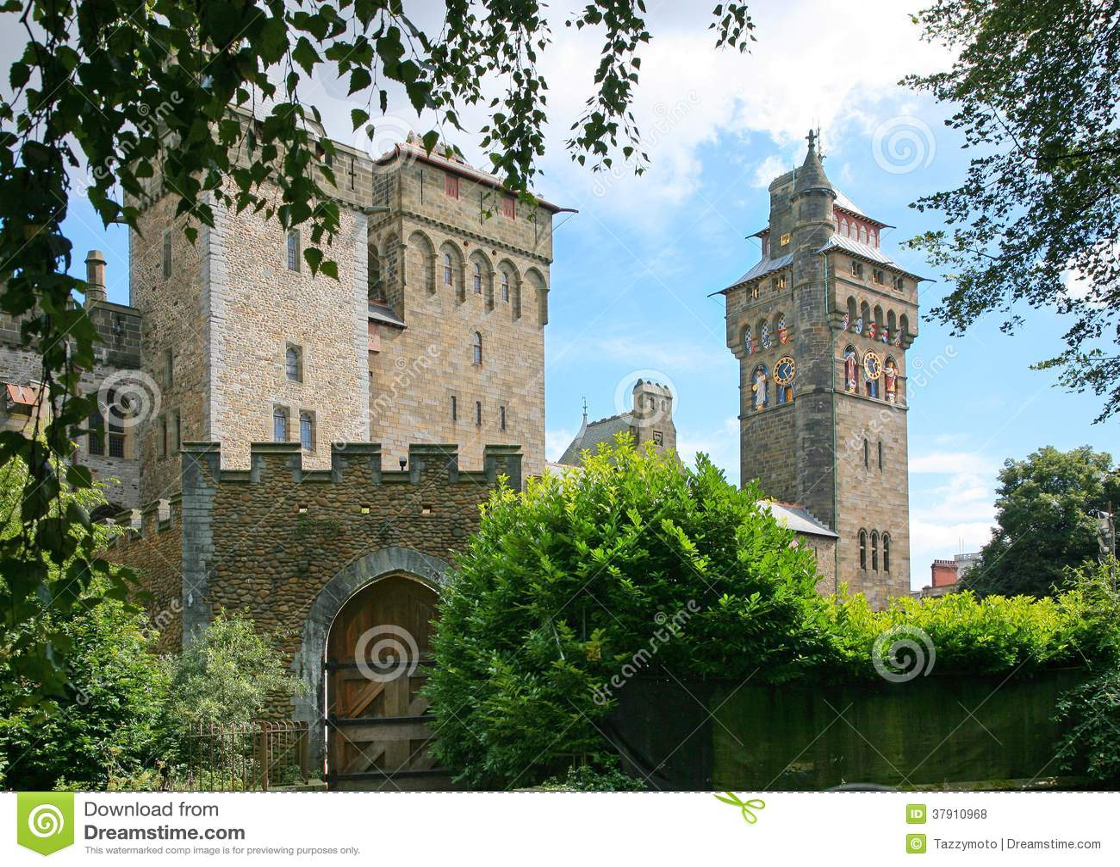 Het kasteel van Cardiff
