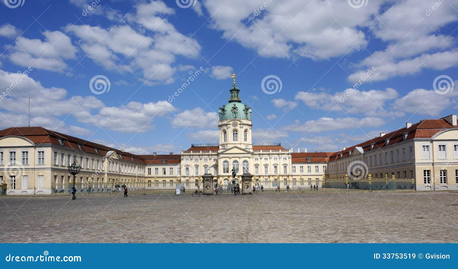 Het Kasteel van Charlottenburg