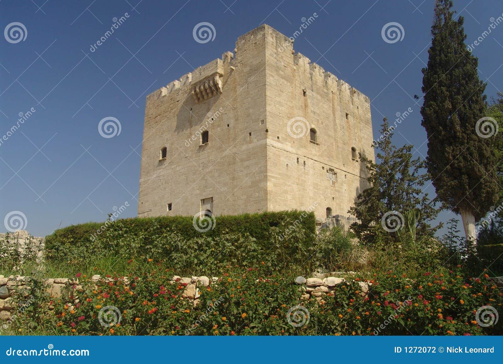 Het Kasteel van de Kruisvaarder van Kolossi