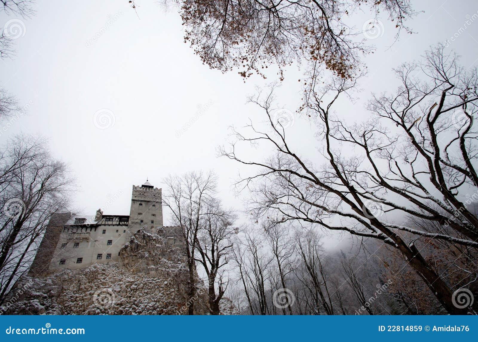 Het Kasteel Van Dracula Royalty vrije Stock Afbeeldingen   Afbeelding  22814859