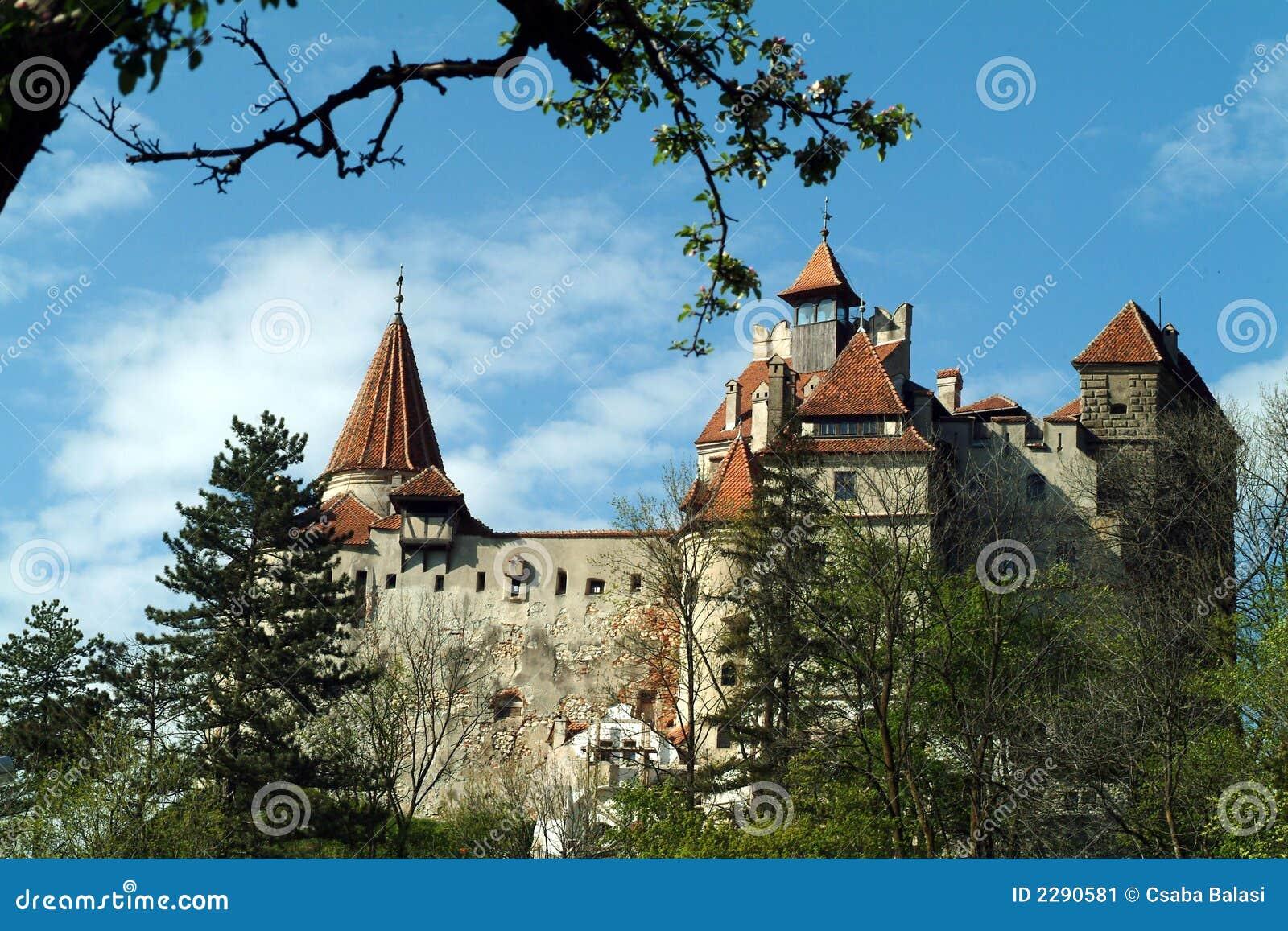 Het Kasteel Van Dracula Stock Afbeelding   Afbeelding  2290581