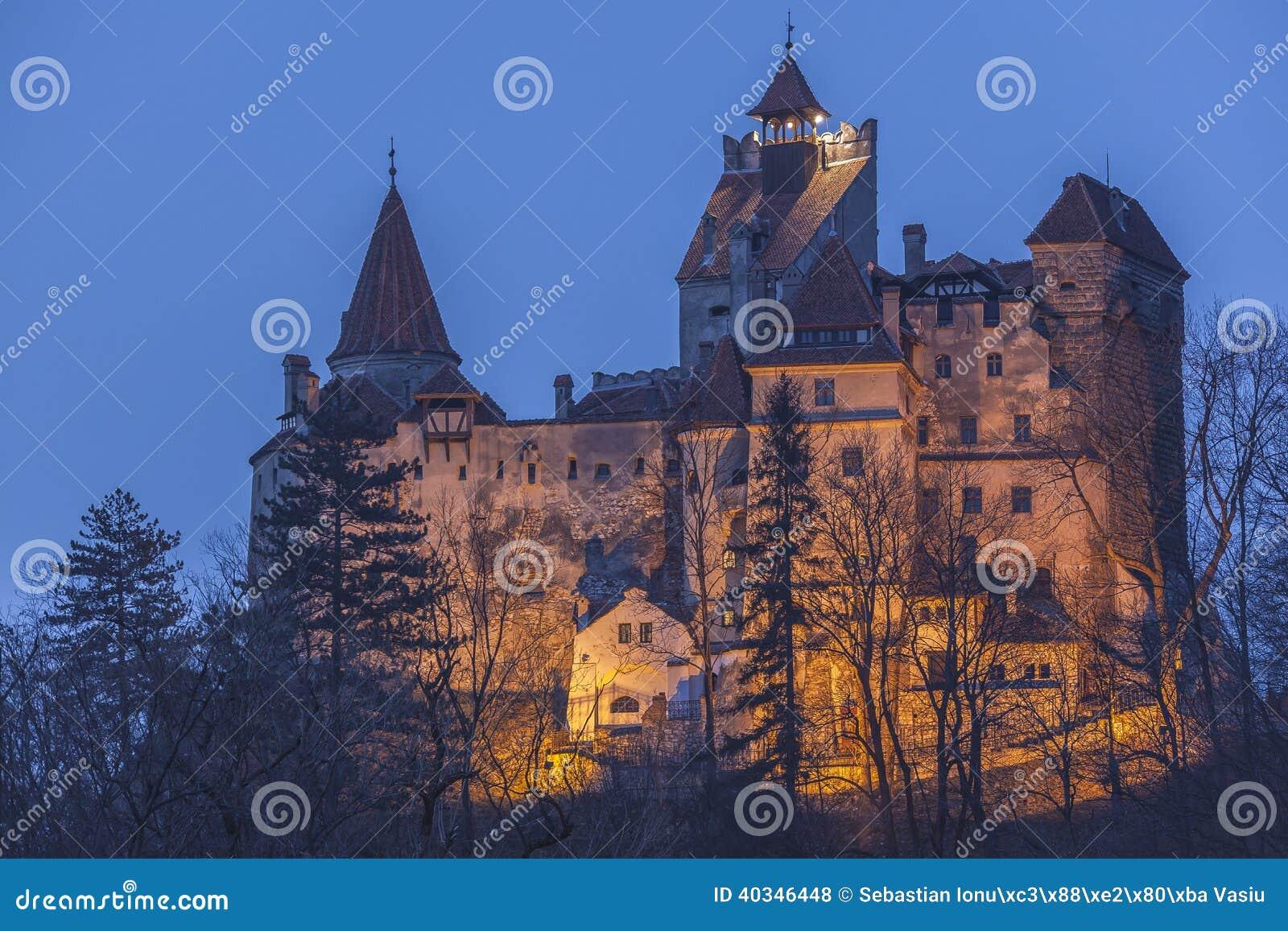 Het Kasteel Van Dracula In Transsylvani u00eb Stock Foto   Afbeelding  40346448