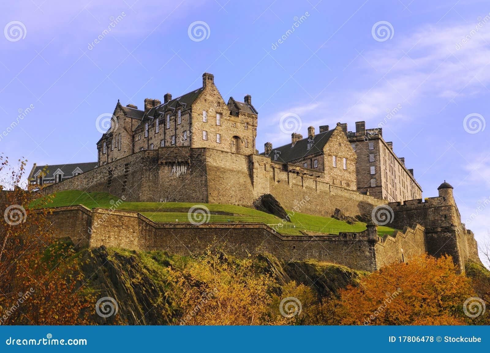 Het Kasteel van Edinburgh