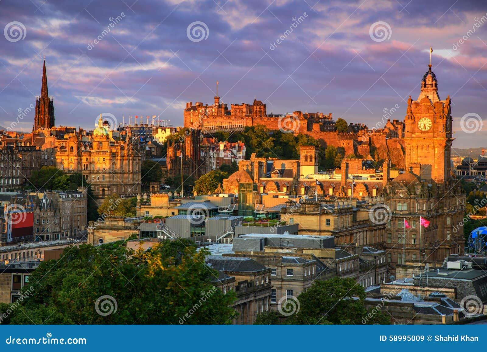 Het Kasteel van Edinburgh, Schotland
