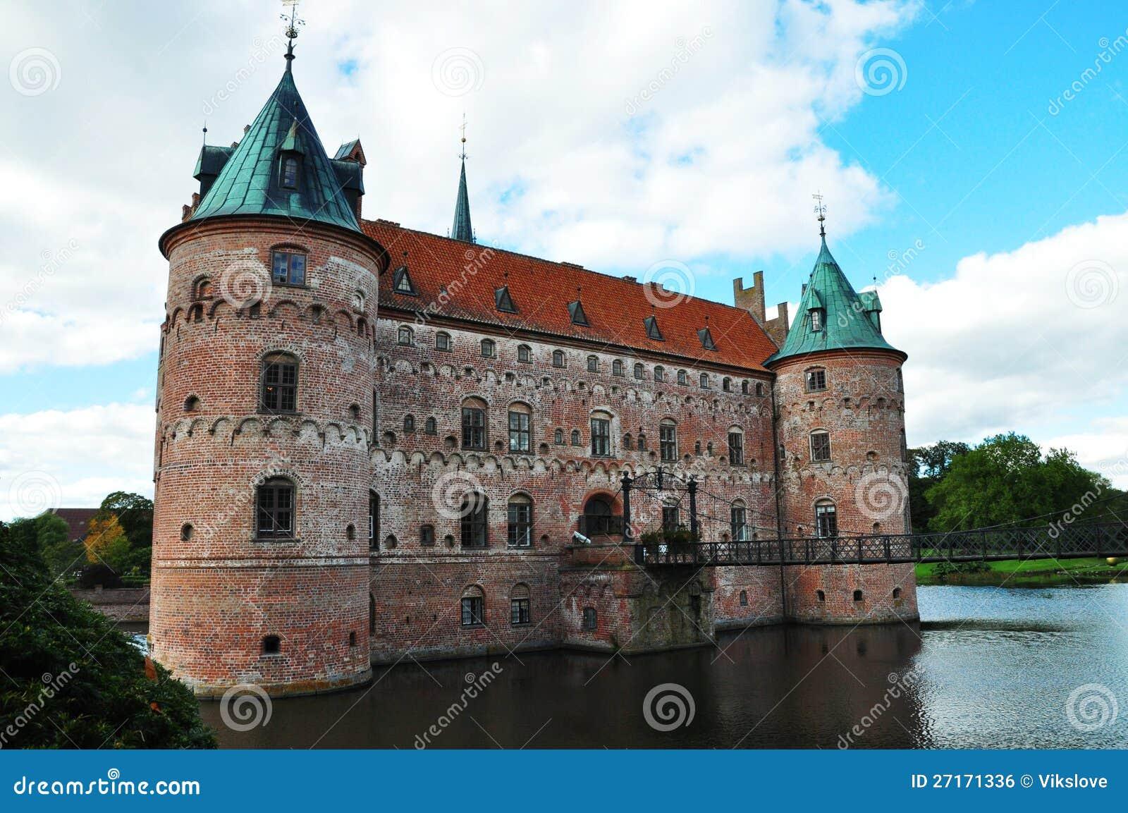 Het kasteel van Egeskov