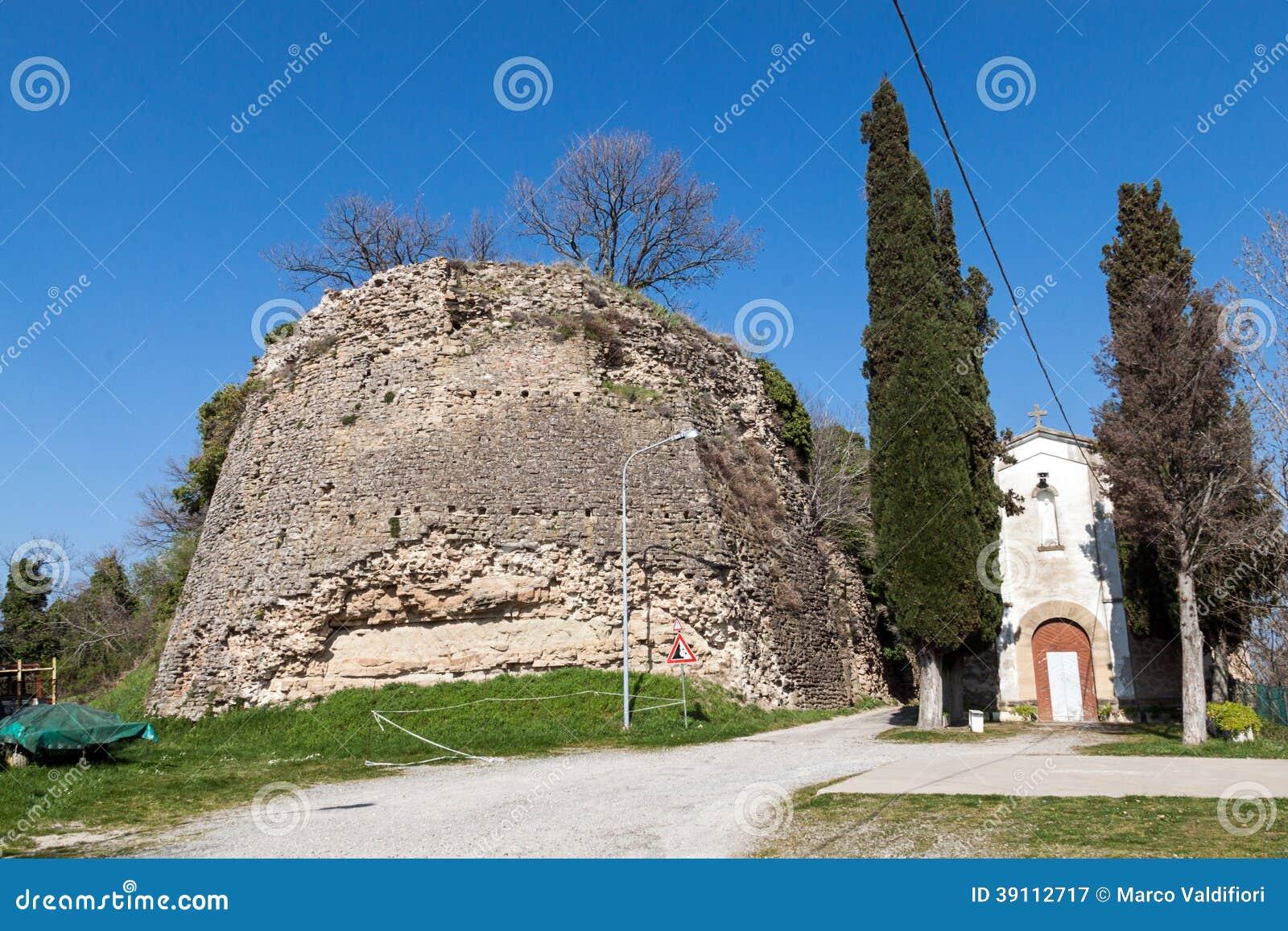 Het kasteel van Giaggiolo