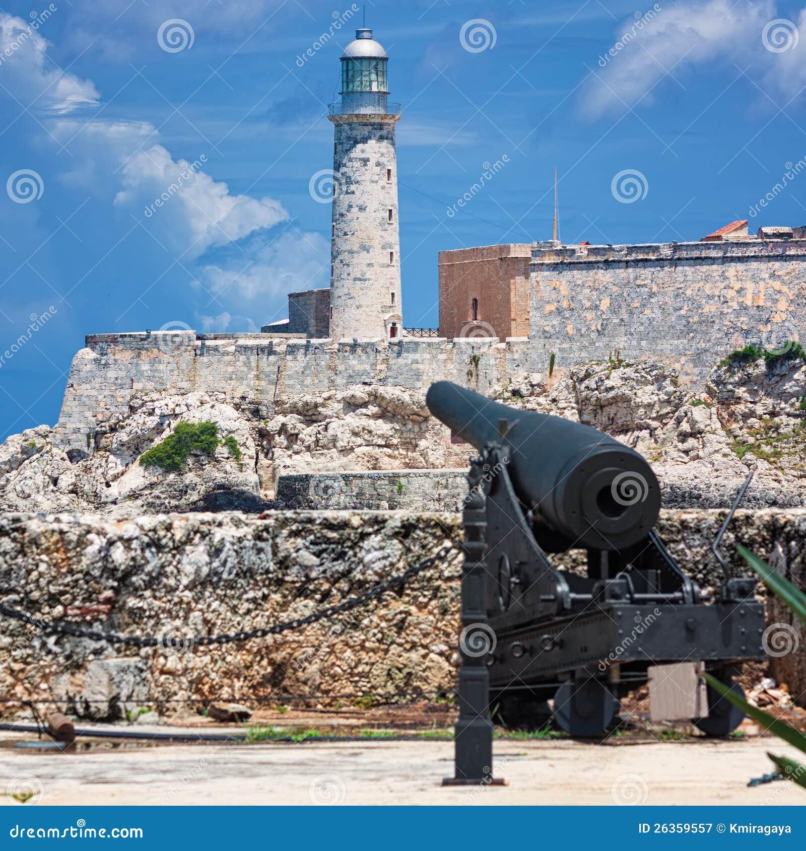 Het kasteel van Gr Morro in Havana