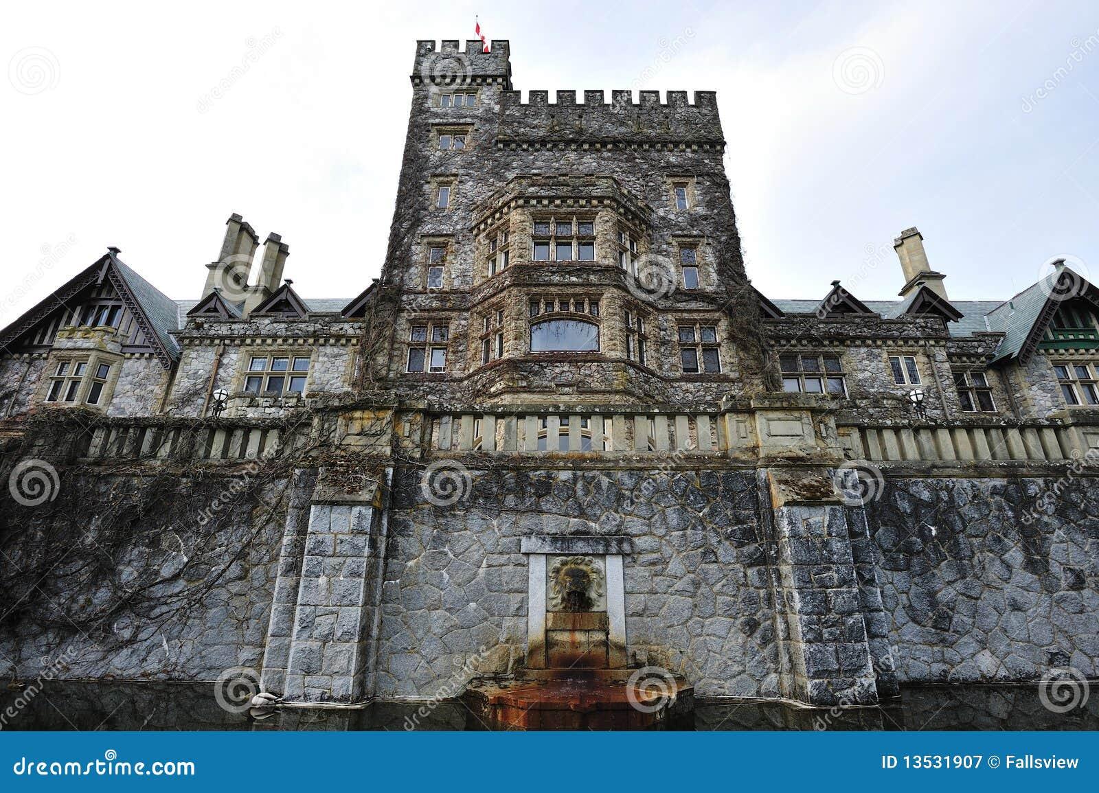 Het kasteel van Hatley in Vancouver eiland