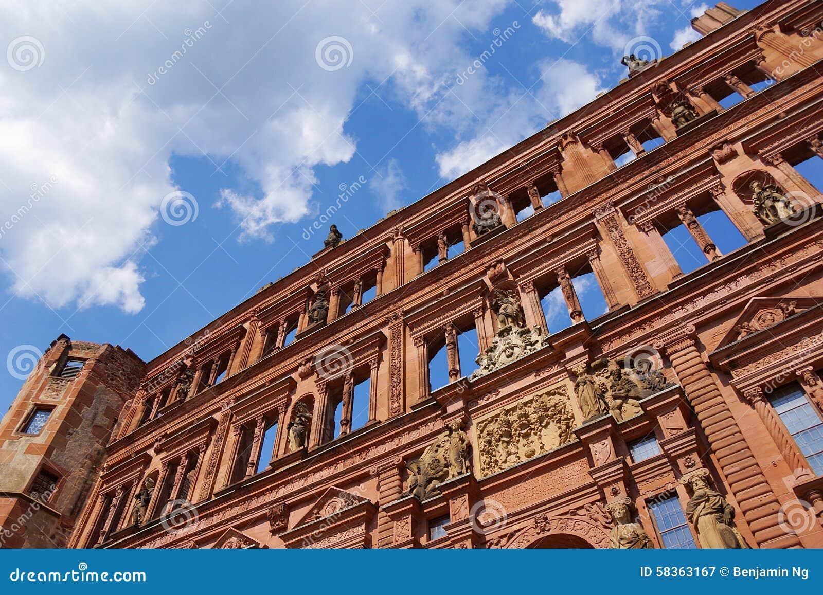 Het kasteel van Heidelberg