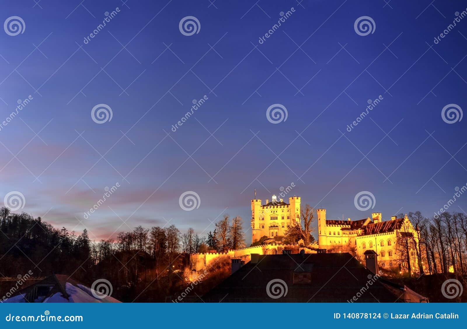 Het Kasteel van Hohenschwangau, Duitsland