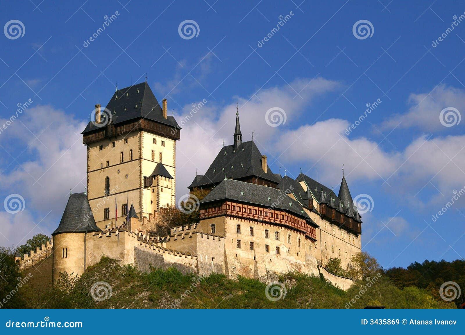 Het kasteel van Karlshtein