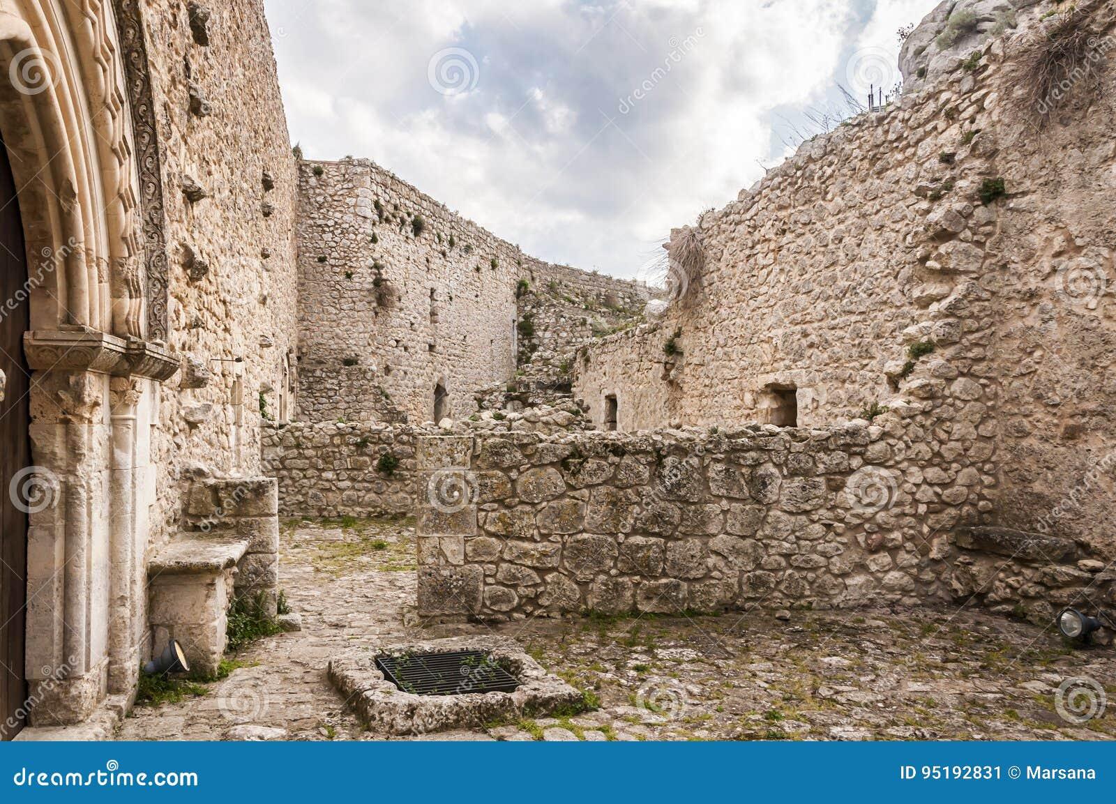 Het kasteel van Mussomeli
